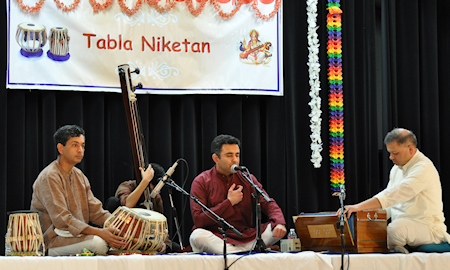 Shri. Nachiketa Sharma presenting vocal recital